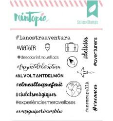 Sello Hashtags Catalán
