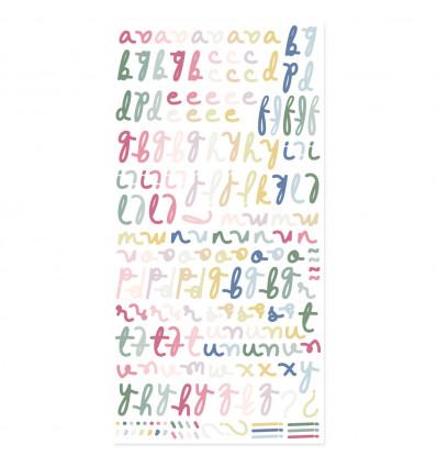 Alfabeto puffy