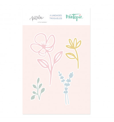 Troquel set flores