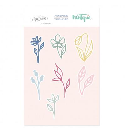Troquel mini flores