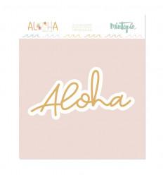 Troquel Aloha Título