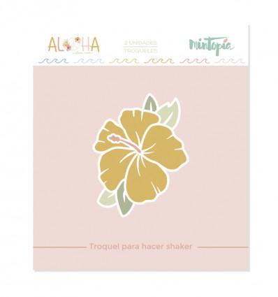 Troquel Aloha Flor de hibisco