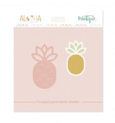 Troquel Aloha Piña shaker