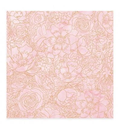 Vellum Flores Foil Bonita (10 unidades)