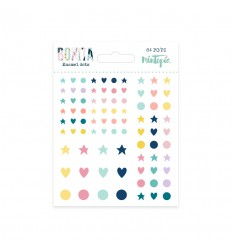 Enamel dots Bonita (5 unidades)
