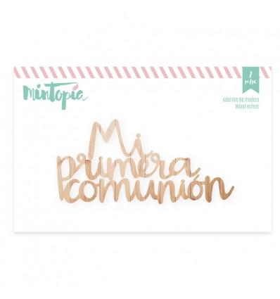 Maderita Mi primera comunión (6 unidades)