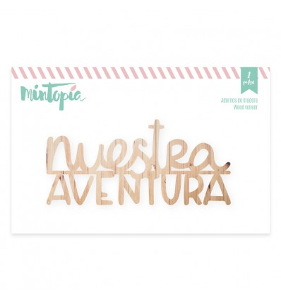 Maderita Nuestra Aventura (6 unidades)