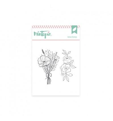 Sello Ramo de flores (3 unidades)