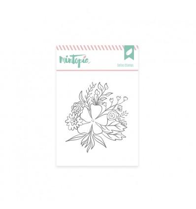 Sello Flores bonitas (3 unidades)