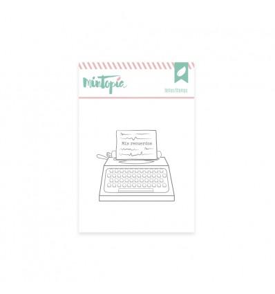 Sello Máquina de escribir (3 unidades)