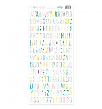 Alfabeto Maui (5 unidades)