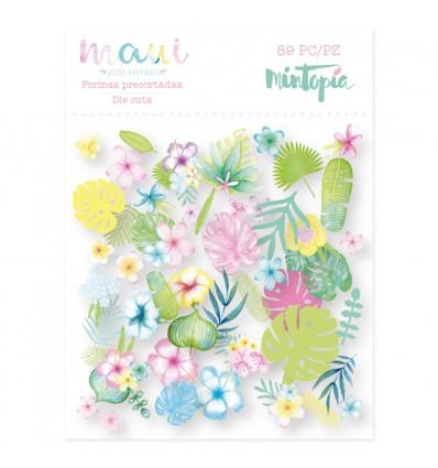 Die cuts flores Maui (5 unidades)