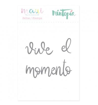 Sello Vive el momento (3 unidades)