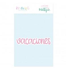 Troquel Vacaciones (3 unidades)