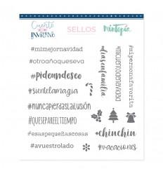 Sello Hashtags Pide un Deseo (3 unidades)