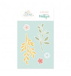 Troquel Flor de olivo (5 unidades)