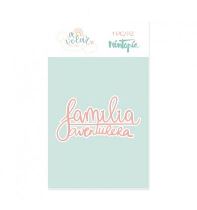 Troquel Familia aventurera (5 unidades)