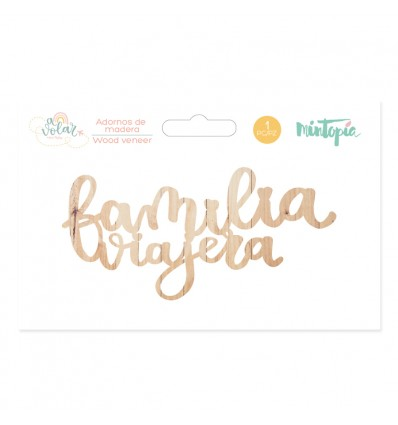 Maderita Familia Viajera (5 unidades)