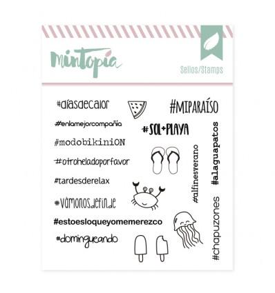 Sello Hashtags Viajeros
