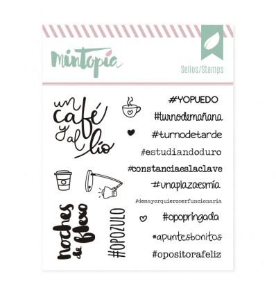 Sello Hashtags Veraniegos