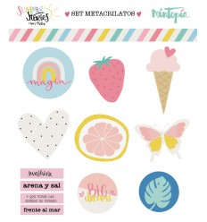 Set formas de metacrilato Summer Stories