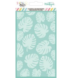 Carpeta de embossing Monstera