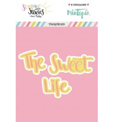 Troquel The sweet Life doble capa