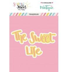 Troquel The sweet Life doble capa