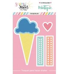 Troquel Cono de helado shaker