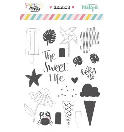 Set de sellos The sweet Life