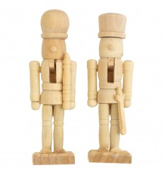Cascanueces de madera Muérdago