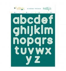 Troquel Alfabeto Muérdago