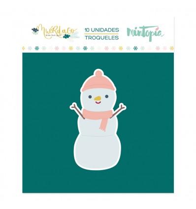 Troquel Hazme un muñeco de nieve