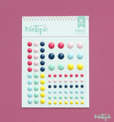 Enamel Dots Summer